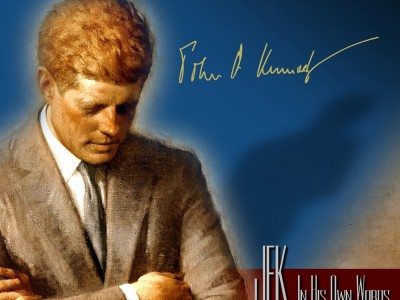 JFK In His Own Words – The Audio Documentary 2 CD set of President John F Kennedy
