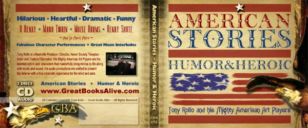 American Stories - Humor And Heroic  case wrap
